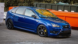 Blue spot in the countryside - Ford Focus ST / XR5