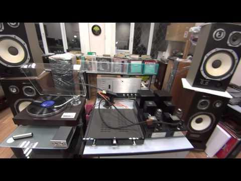 Tom Jones & Yamaha YP-D9, Knyazev G-2 MC step-up transformer