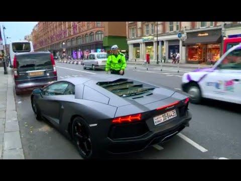 سيارات أثرياء الخليج في لندن (فلم وثائقي) Millionaire boy racers HD