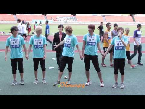 110827 Super Junior - Curtain Call @ IDOL SPORTS RECORDING