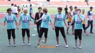 110827 Super Junior - Curtain Call @ IDOL SPORTS RECORDING