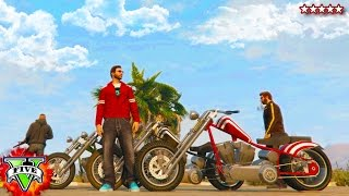 GTA PC Online BIKER GANG WARS!! | Riding & Killing with the Crew GTA 5 | GTA V CUSTOMIZING BIKES