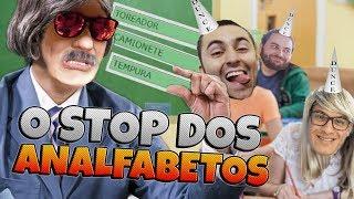 O STOP DOS ANALFABETOS feat.Clô, Bida e Sebola