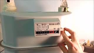 Как остановить газовый счетчик пленкой ВК G10, ВК G4, ВК G6, ВК G16. +7 917 488 77 17