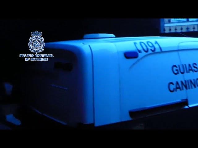 Macrooperación contra el tráfico de drogas en Santiago