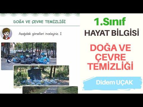 1. SINIF HAYAT BİLGİSİ / DOĞA VE ÇEVRE TEMİZLİĞİ