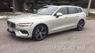 "The 2019 Volvo V60 - Swedish for ""This is the most luxurious wagon you'll ever experience!"""