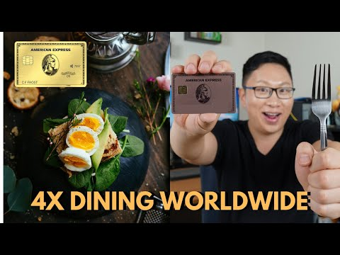 Amex GOLD Card ADDS 4X At Restaurants WORLDWIDE