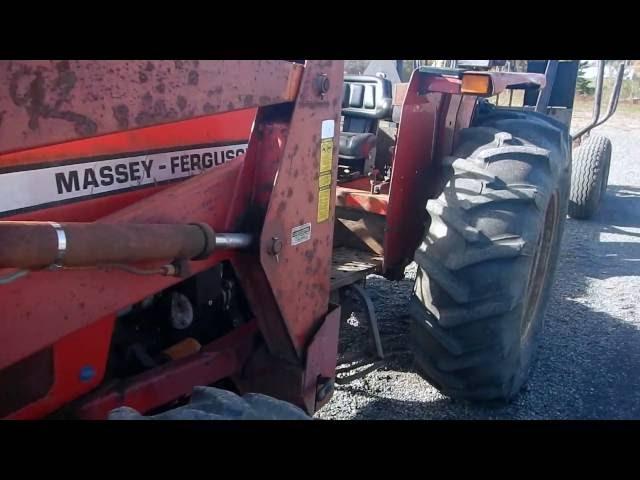 Massey Ferguson 383 Farm Tractor   Massey Ferguson Farm Tractors