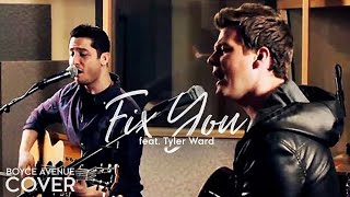 Video Fix You - Coldplay (Boyce Avenue feat. Tyler Ward acoustic cover) on Spotify & Apple download MP3, 3GP, MP4, WEBM, AVI, FLV Oktober 2018