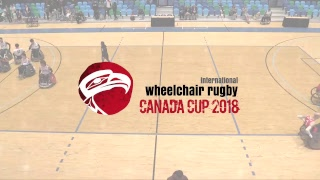 2018 Wheelchair Rugby Canada Cup | Denmark vs Japan | June 16