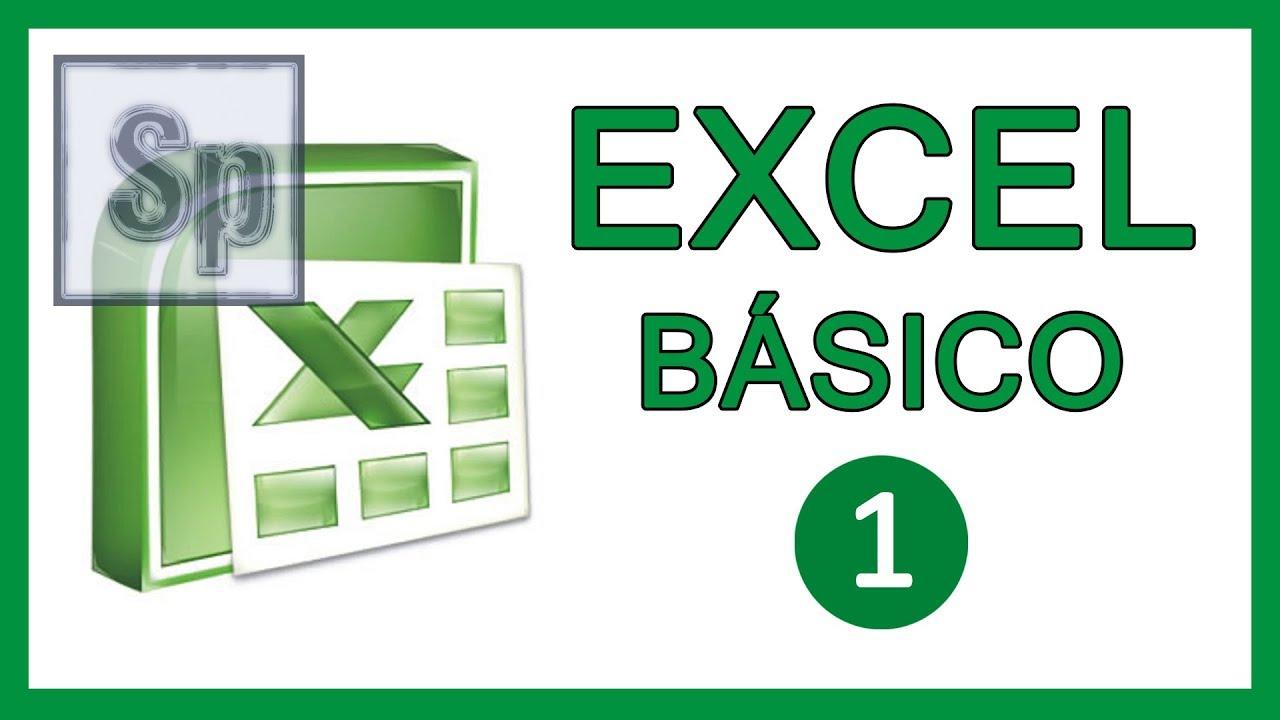 Download Excel - 1/3 Iniciación, básico, principiantes. Tutorial en español HD