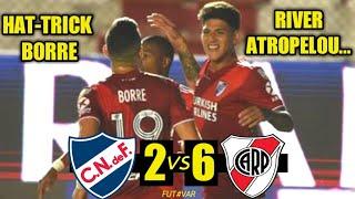 Nacional 2 X 6 River Plate | Copa Libertadores da América | Melhores Momentos 17/12/2020
