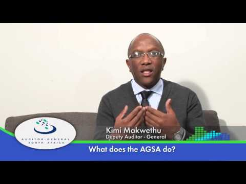 AGSA Part 1   What does the AGSA do?