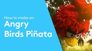 How To Make An Angry Birds Piñata | Paper Mache Tutorial By Solopress