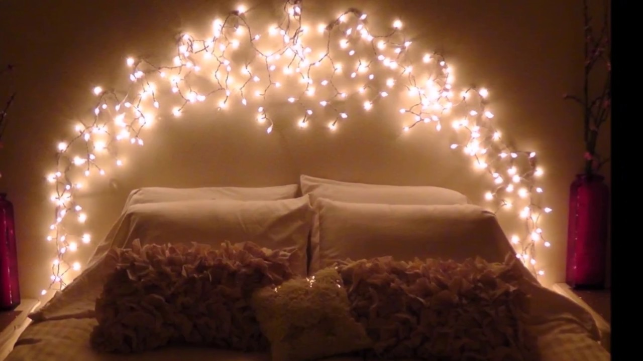 Cool diy bedroom lighting decoration ideas youtube