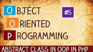 abstract class in oop in php