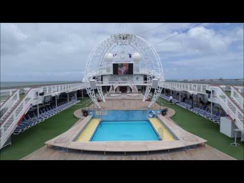 P&O Pacific Jewel, comprehensive ship tour,December 2016