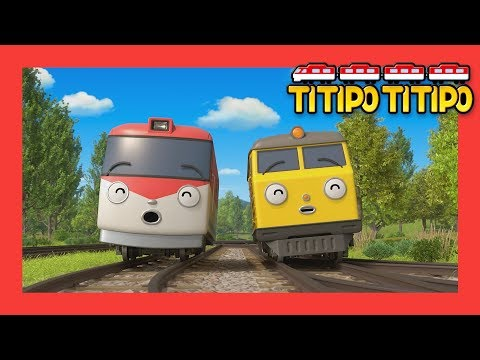 Titipo S1 full episodes Compilation l EP 22-26 (55 mins) l Train shows for kids l Titipo TItipo