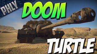 NO AMMO, NO PROBLEM - T-95 DOOM TURTLE (War Thunder Tank Gameplay)