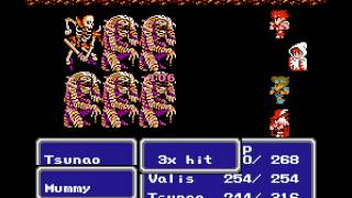 NES Longplay [225] Final Fantasy III (part 1 of 7)