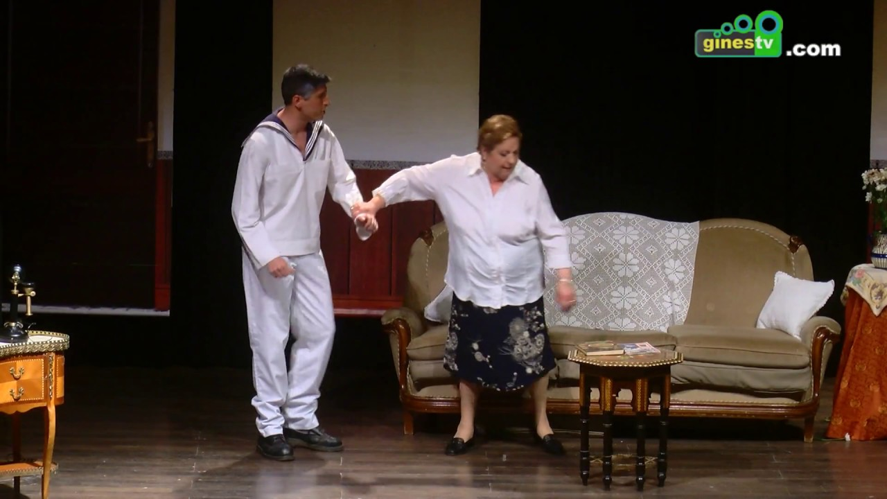 La Asociación Teatral Releñe puso en escena la comedia 'El marino'