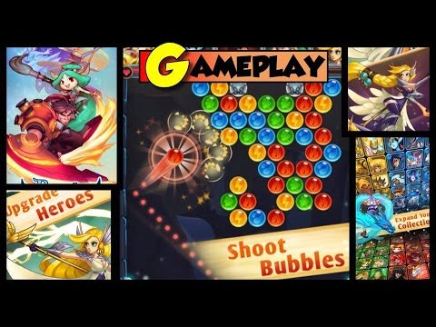 Battle Pop - Bubble Shooter, Tactical Puzzle RPG (By Skyborne Games Inc) Gameplay iOS Video