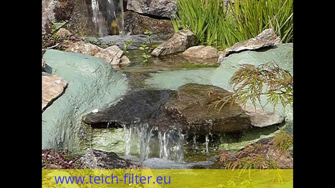 Wasserfall Für Teich Und Garten Selber Bauen Mit Bauanleitung