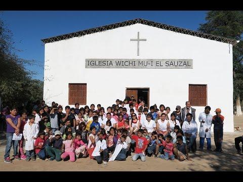 Iglesia Wichi Mu-I El Sauzal El Impenetrable Chaco Argentina