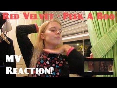 Red Velvet/레드벨벳 - Peek-A-Boo/피카부 MV Reaction - Hannah May