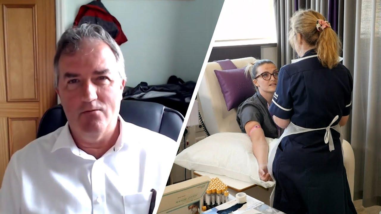 «Система истощена до предела»: британский врач о ситуации с коронавирусом в стране