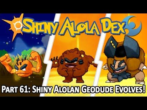 [LIVE!] Shiny Alolan Geodude after 48 SOS Chain EVOLVES into Shiny Alolan Golem! (Stream Highlight)