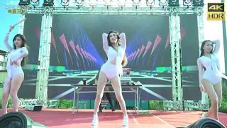 Baby Queens 辣妹熱舞1(4K HDR)@林園廟會[無限HD] ????