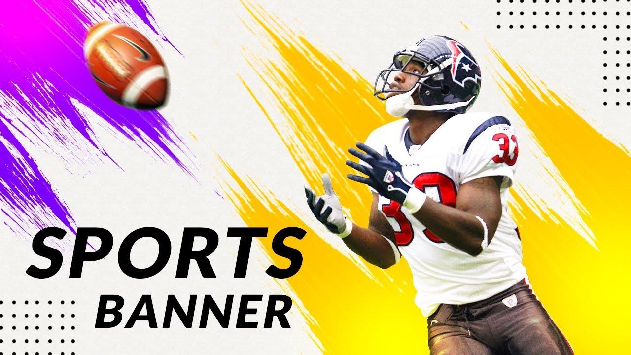 How to Create Professional Sport Poster Design | Photoshop Tutorials | PE40