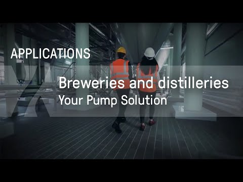 Your Pump Solution: Breweries and Distilleries