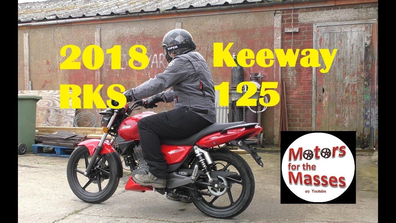 2018 Keeway RKS 125 Street commuter