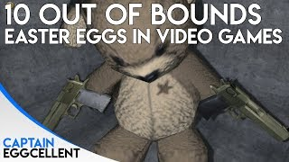 10 AMAZING Easter Eggs Hidden Out Of Bounds