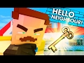 FINDING THE SECRET KEY! Hello Neighbor vs Minecraft (Teen Titans GO Roleplay)