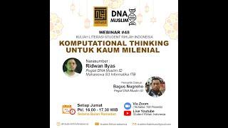 WEBINAR #48 | Komputational Thinking untuk Kaum Milenial