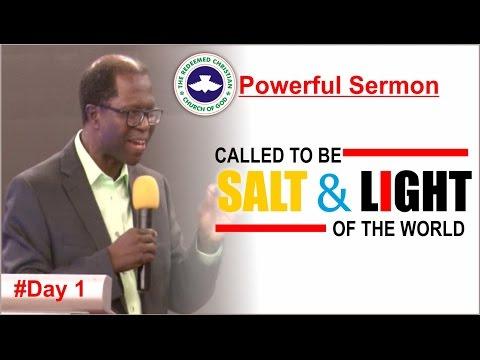 Powerful Sermon_ SALT & LIGHT OF THE WORLD