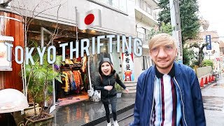 Thrift With Us In TOKYO !! Best Thrift Shops Ever.. not even being dramatic