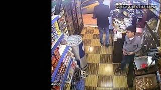 شاهد سرقة احترافية تسجلها كاميرات المراقبة