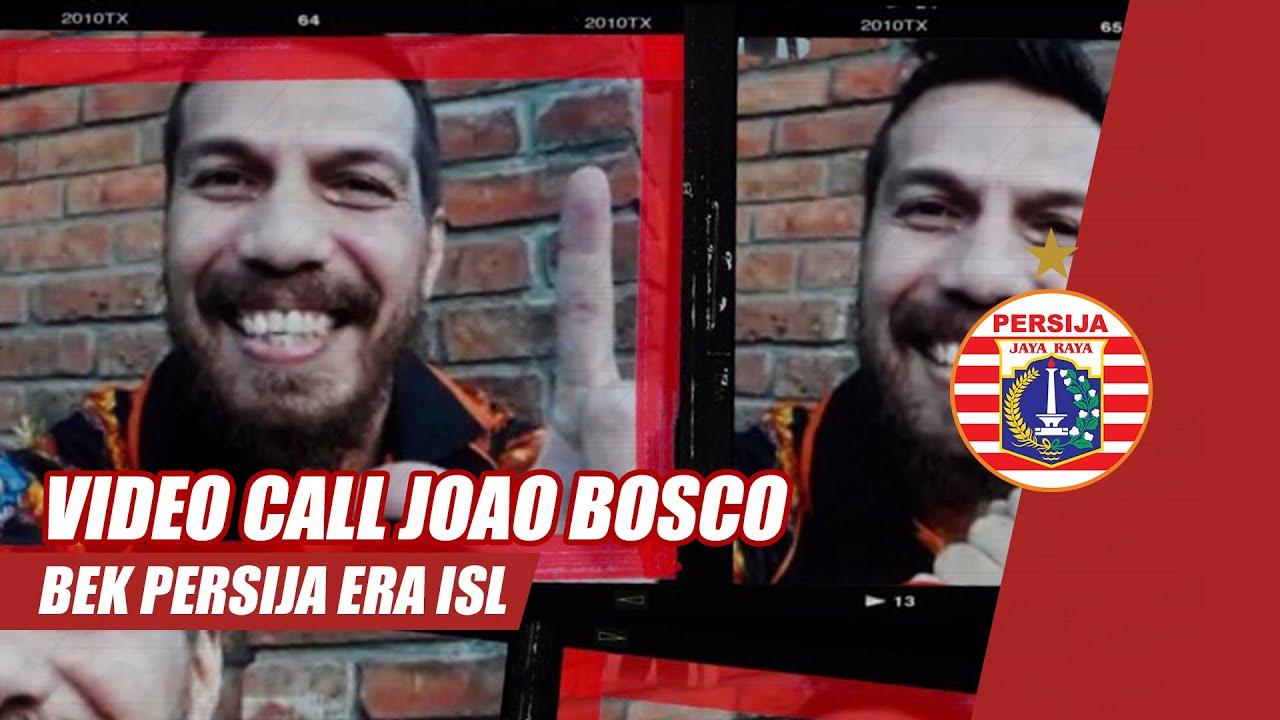 Video Call Joao Bosco Cabral, Bek 'Keras' Persija Era ISL