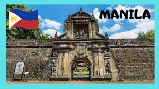 Walking on the walls of Fort Santiago, Manila (Philippines)