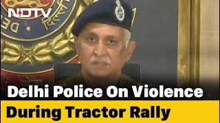 Farmers Were Asked To Hold Rally From 12 To 5 PM, Says Delhi Police