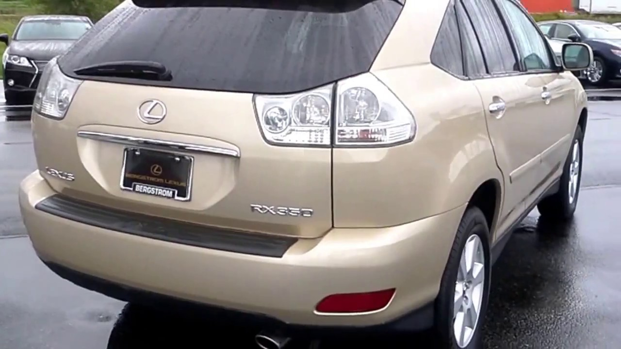 2009 Lexus Rx 350 Review And Features