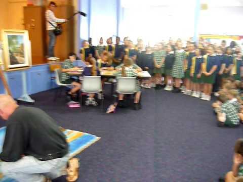 ProArt Launch Holy Family School