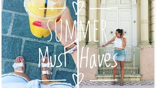 SOMMER/URLAUBS FAVORITEN & MUST-HAVES