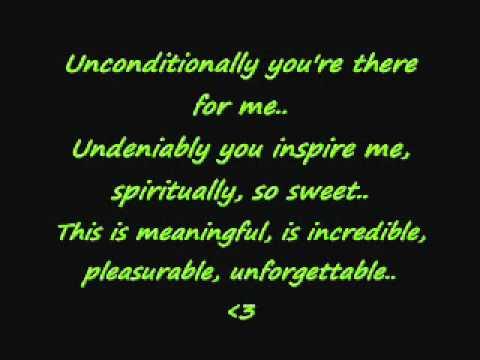 Love Me For Me- Christina Aguilera (lyrics on screen)