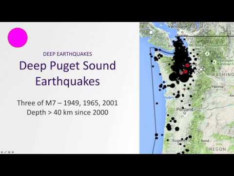 Flavors of Pacific Northwest Earthquakes
